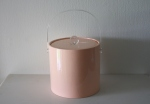 Retro pink ice bucket