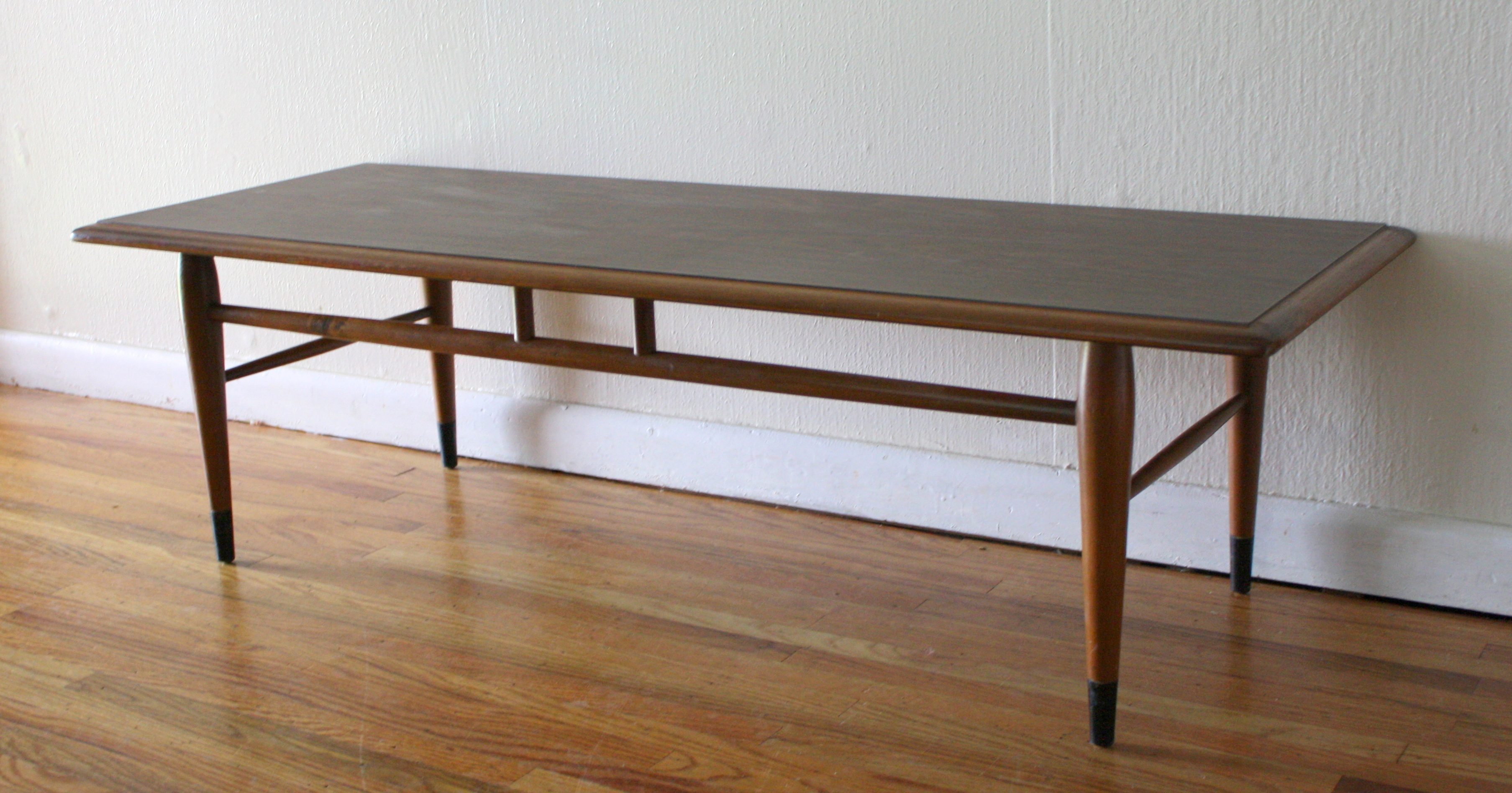 Mid century modern coffee table by lane picked vintage Formica coffee table