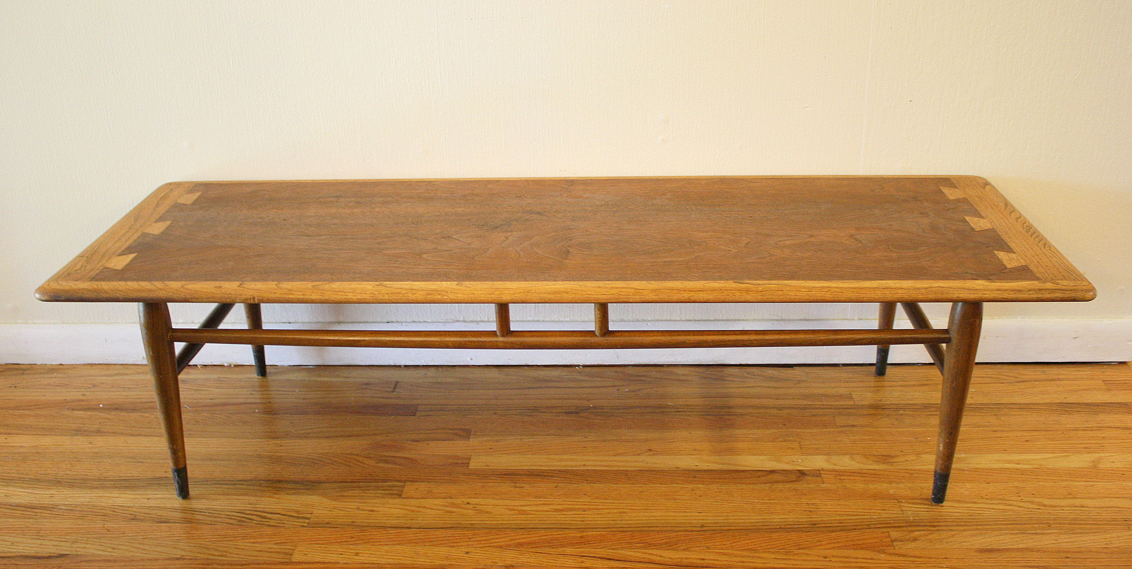Lane Dovetail Coffee Table 1 Picked Vintage