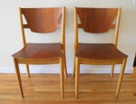 Mid cnetury modern chairs by Peter Hvidt: $450 each