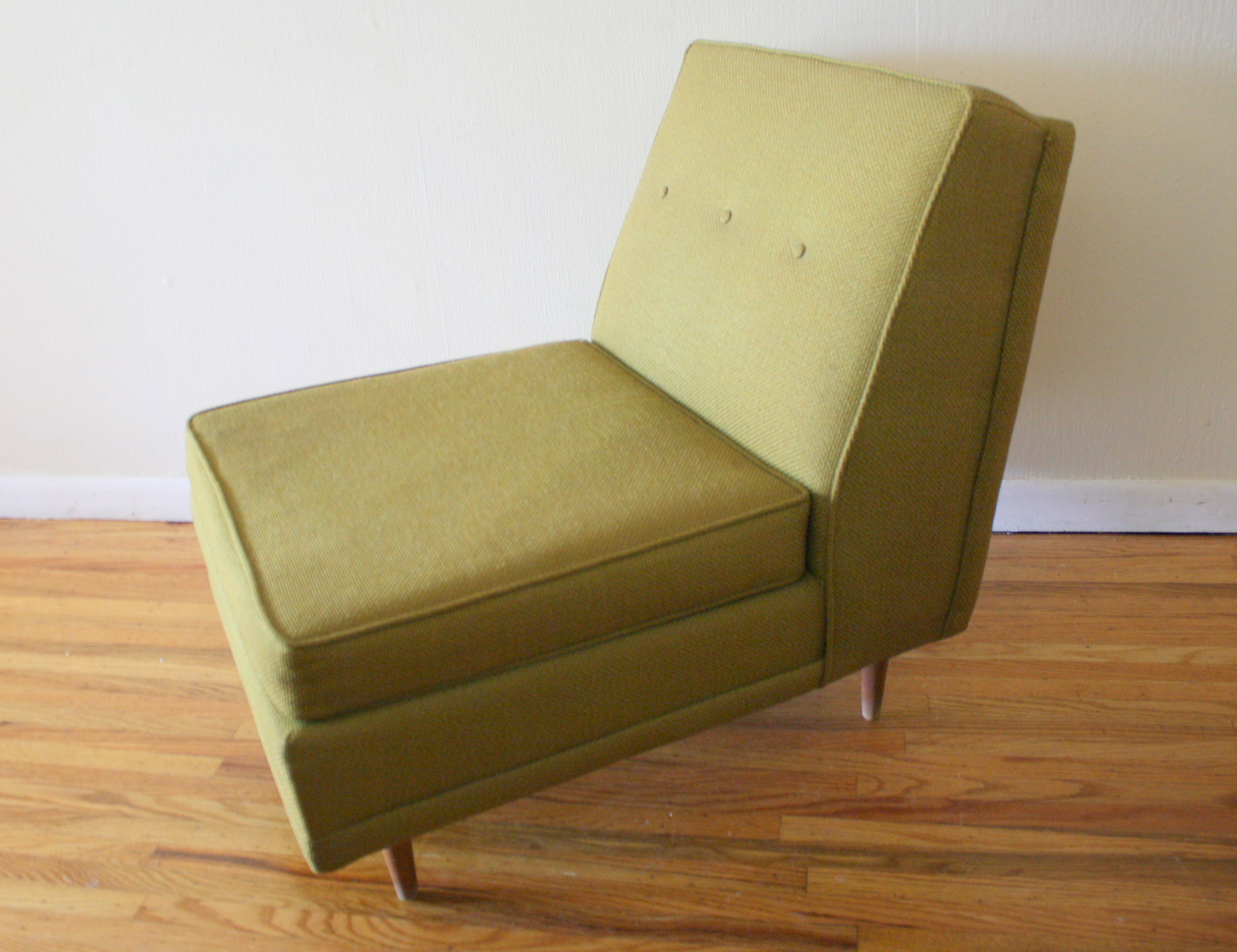 Mid Century Modern Lounge Chair Picked Vintage