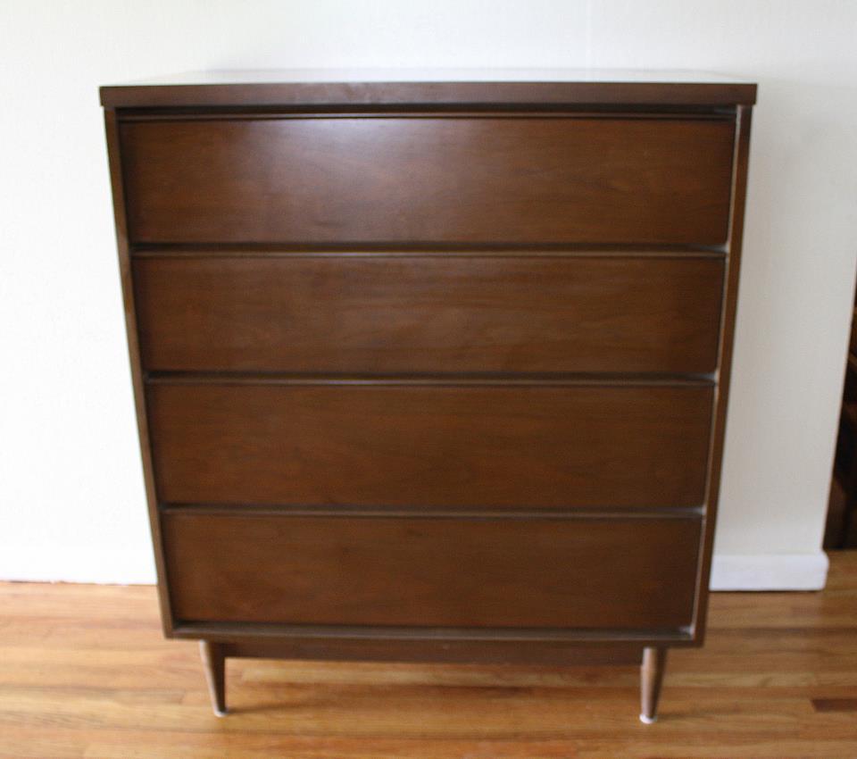 Mid Century Modern Tall Dressers Picked Vintage