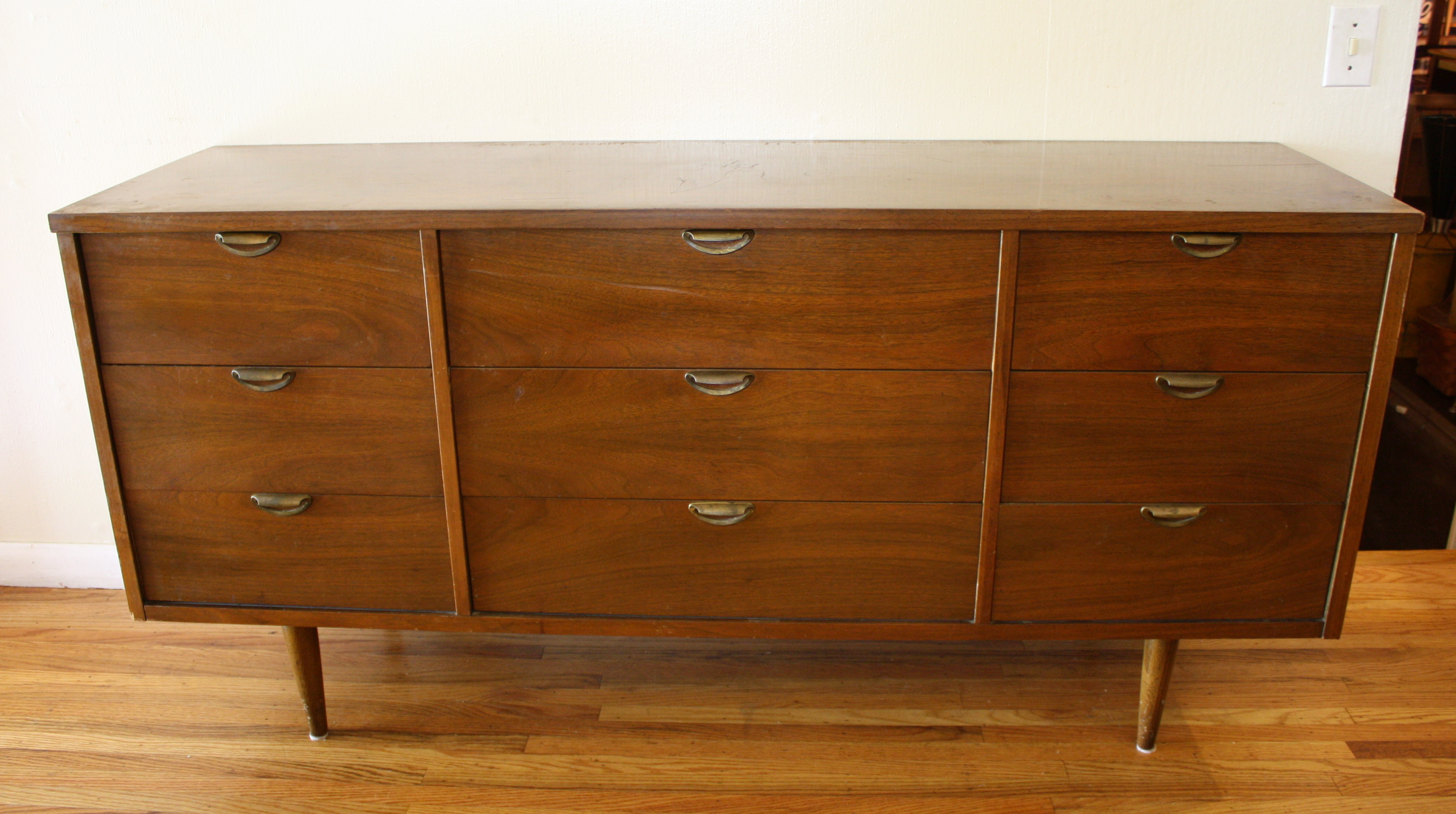 Mid Century Modern Credenza Low Dressers Picked Vintage