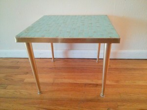 blue tile table 1