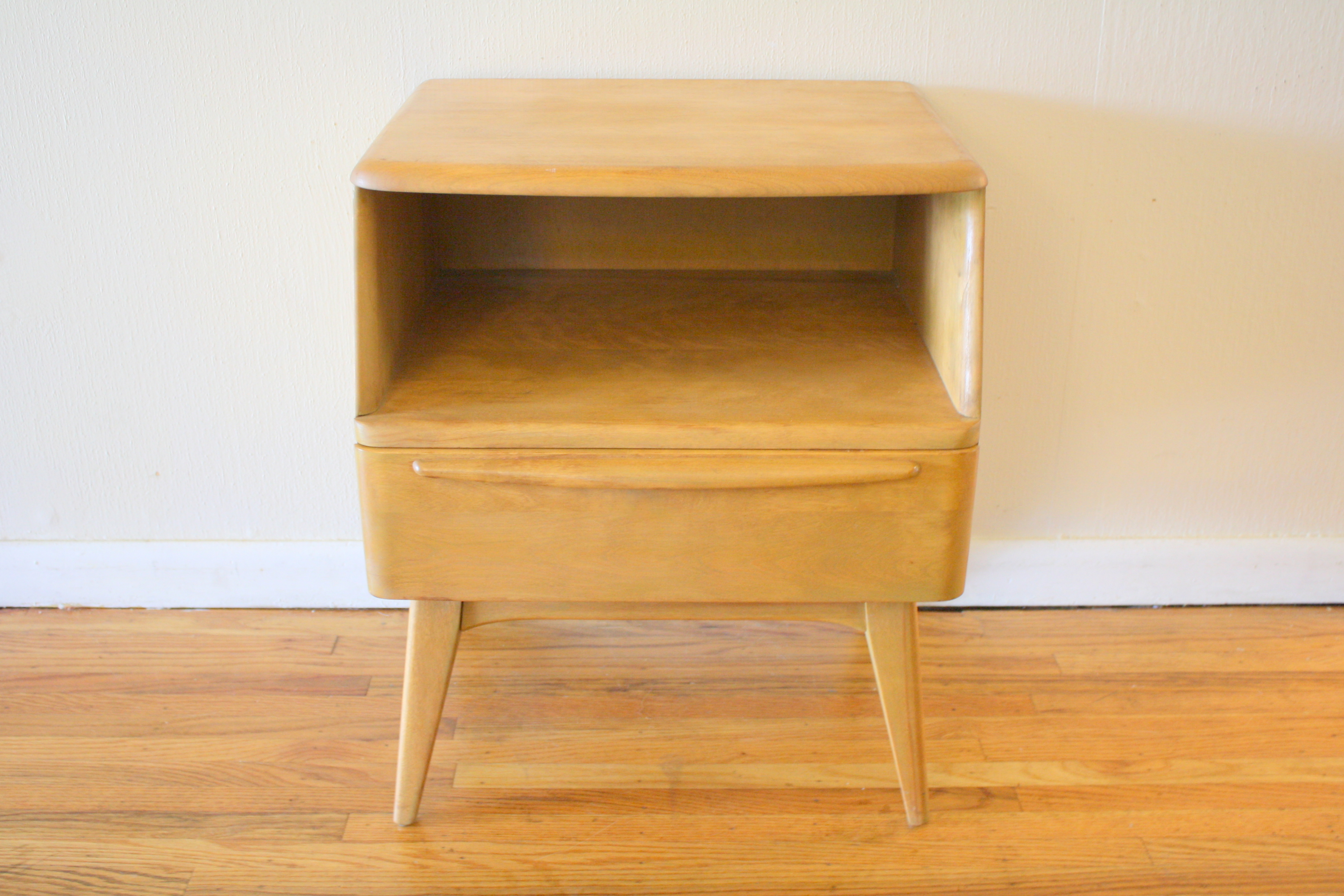 Heywood Wakefield Side End Table Nightstands Picked Vintage