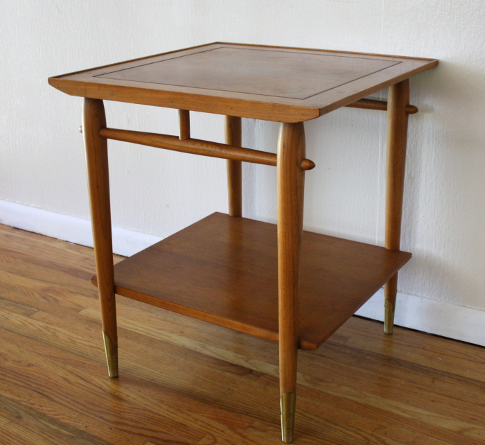Mid Century Lane Copenhagen Drop Leaf Coffee Table: Mid Century Side End Tables By Lane
