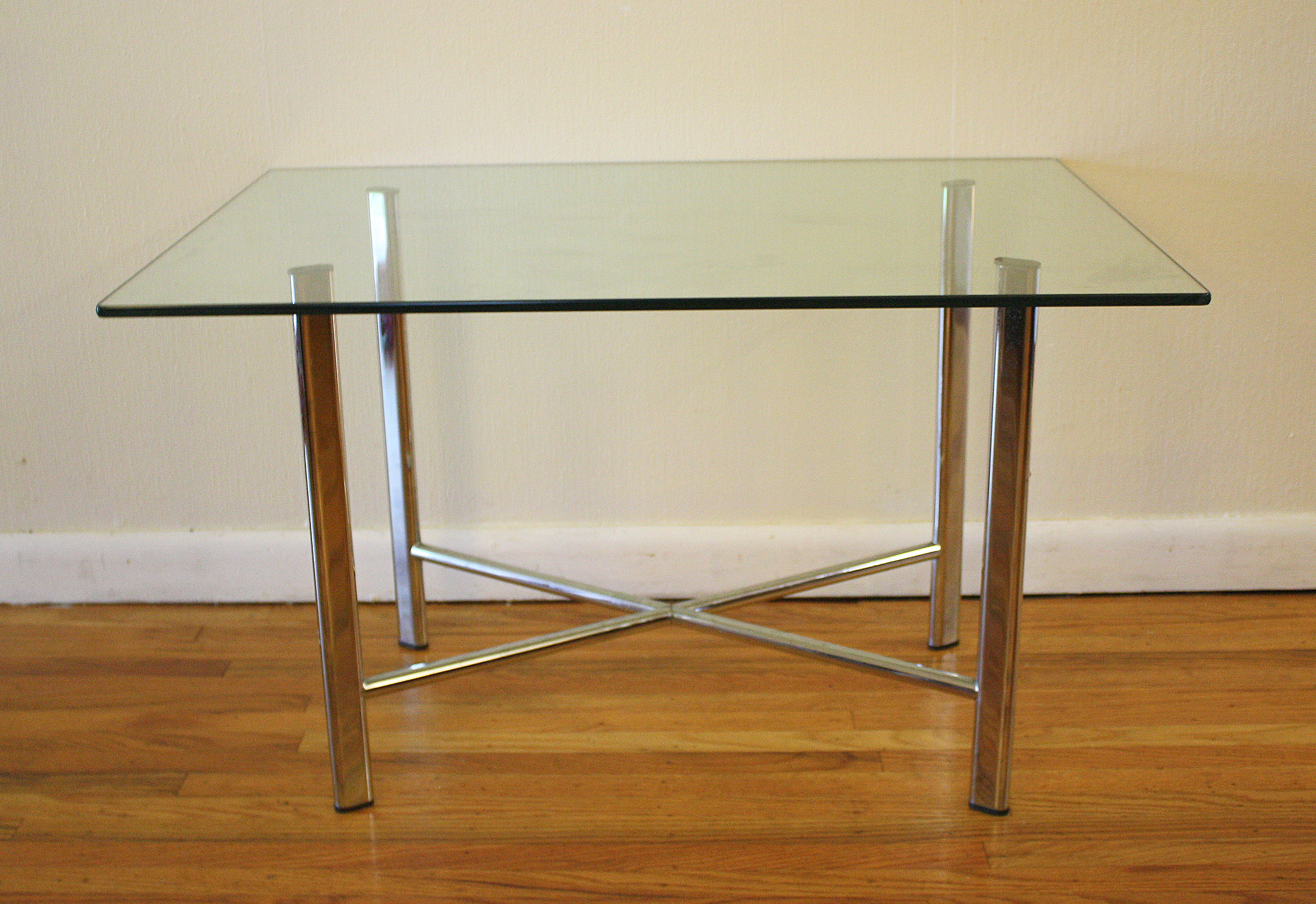 mcm chrome side table 1