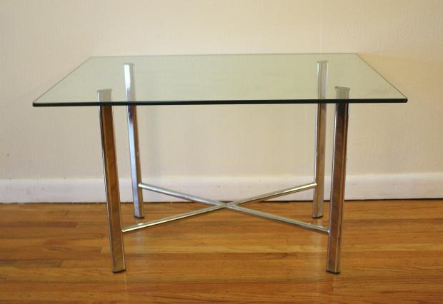 mcm chrome side table 1