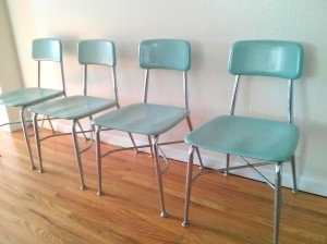 Heywood Wakefield Bakelite chairs 1