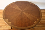 Lane Acclaim round dovetail coffee table