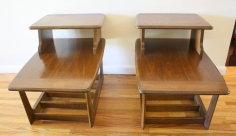 2 tier mcm side table pair 2