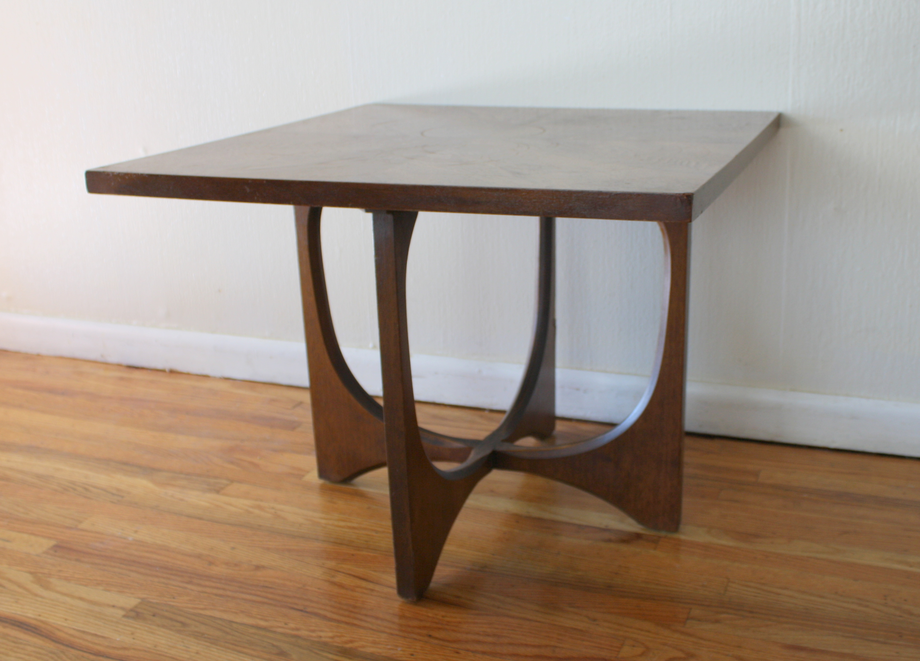 Mid Century Modern Broyhill Brasilia Coffee and Side End Tables