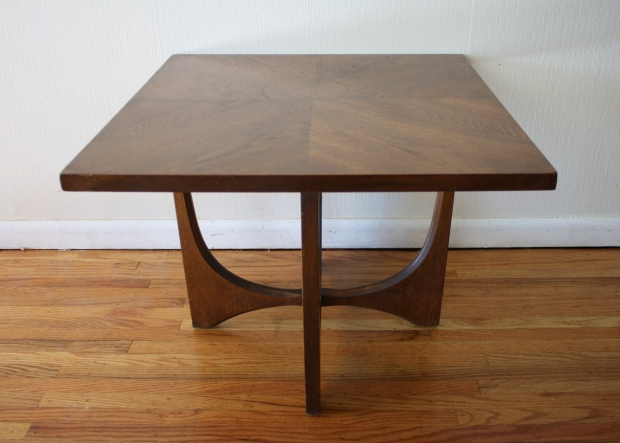 Mid Century Modern Broyhill Brasilia Coffee And Side End Tables Picked Vintage