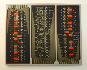 electronic woven wall hanging 1
