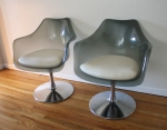 lucite chair pair 2