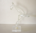 Lucite free form sculpture - *SOLD*