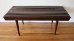 mcm dark slatted coffee table bench 1