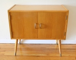 Mid century modern record cabinet - *SOLD*