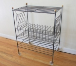 Mid century modern atomic design record rack - *SOLD*