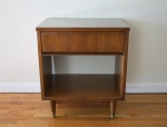 Mcm side table with bottom shelf - *SOLD*