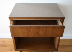 mcm side table with drawer 2