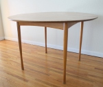mcm Walter Wabash teak dining table 1