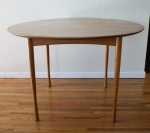 mcm Walter Wabash teak dining table 2