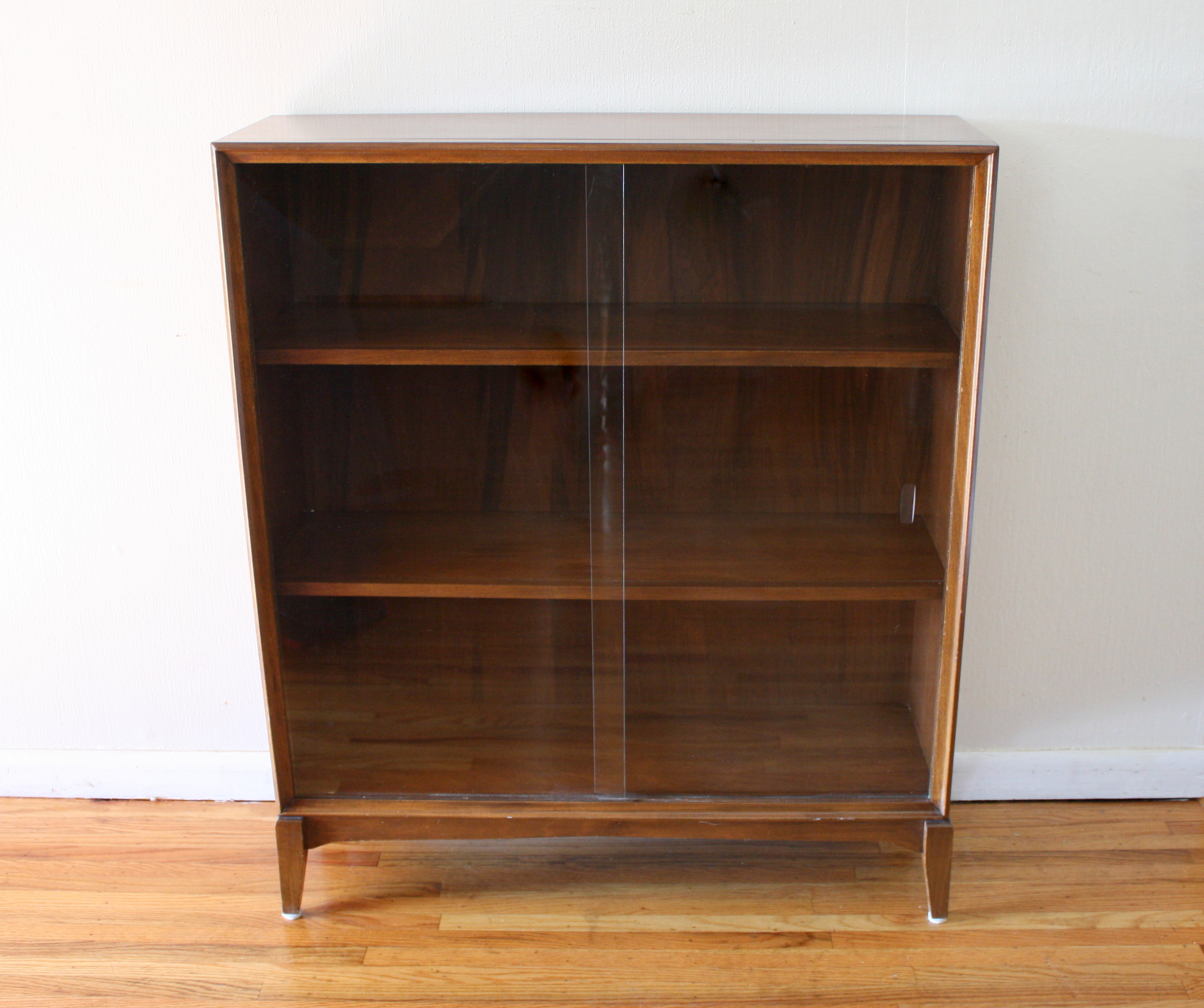 Danish modern walnut dining chairs - Mid Century Modern Bookcases Amp Bookshelf Picked Vintage