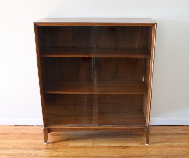 mid century modern bookcase 1 picked vintage. Black Bedroom Furniture Sets. Home Design Ideas