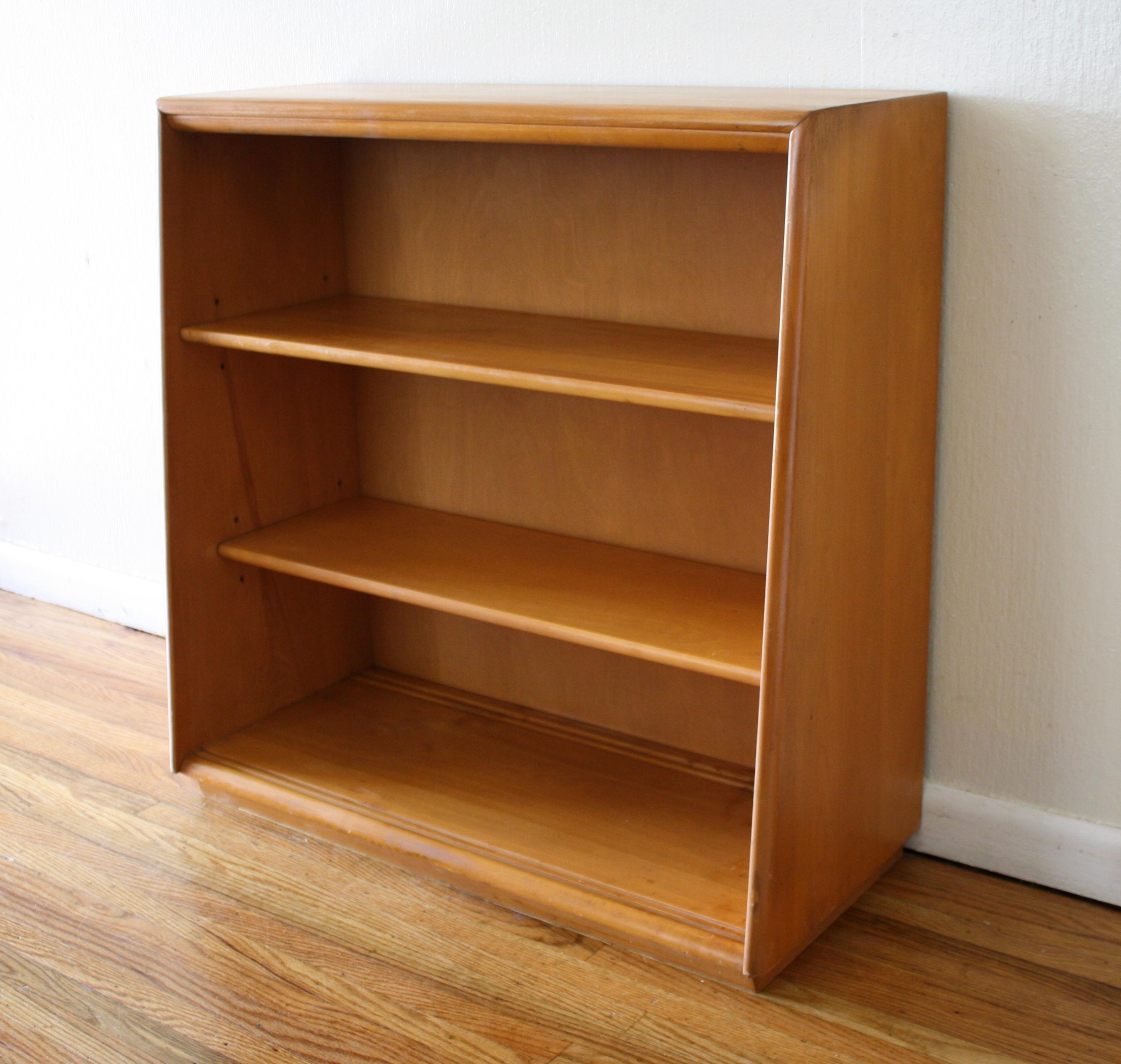 mid century modern bookshelves