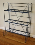 industrial blue metl shelf 2