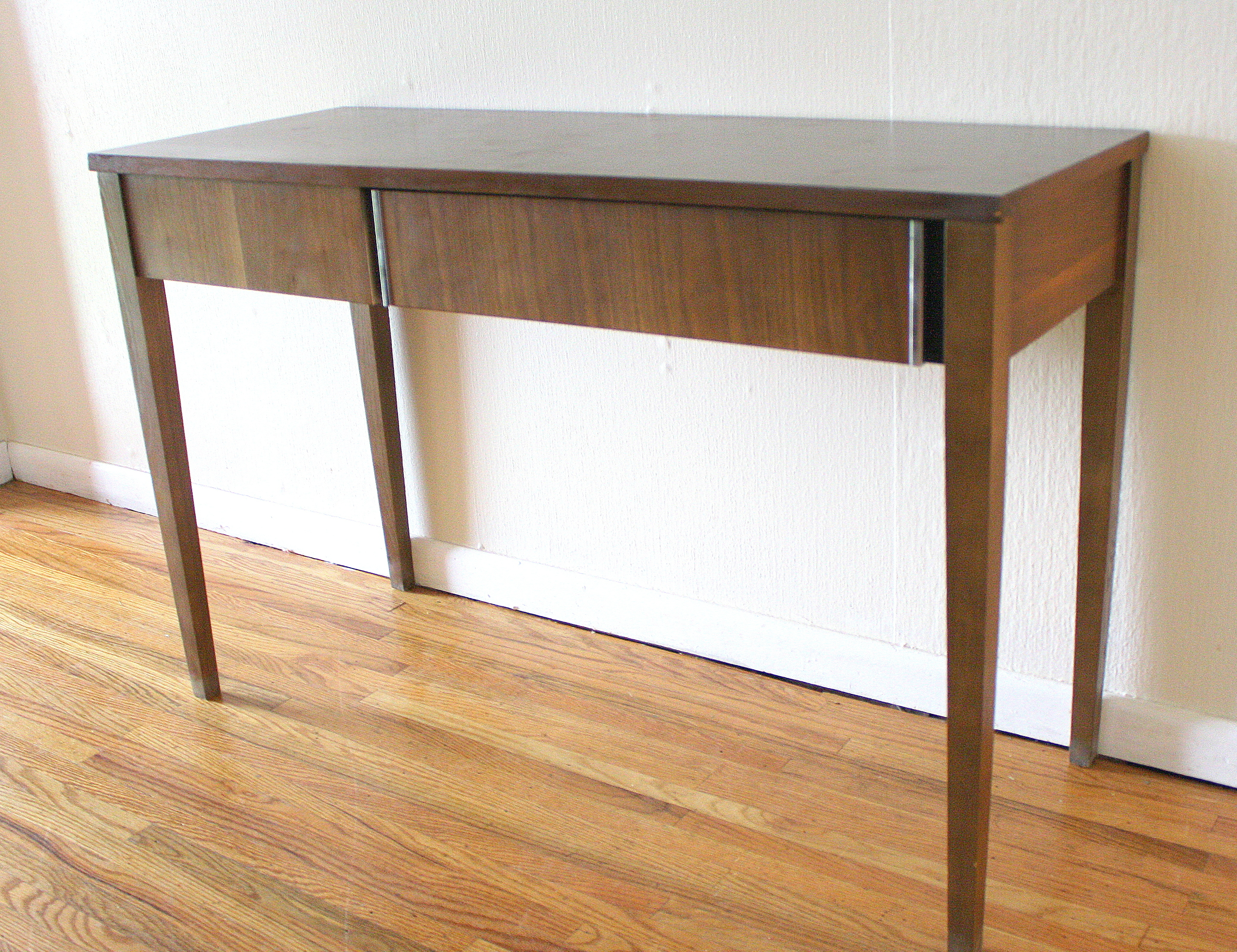 mid century modern console table  picked vintage -