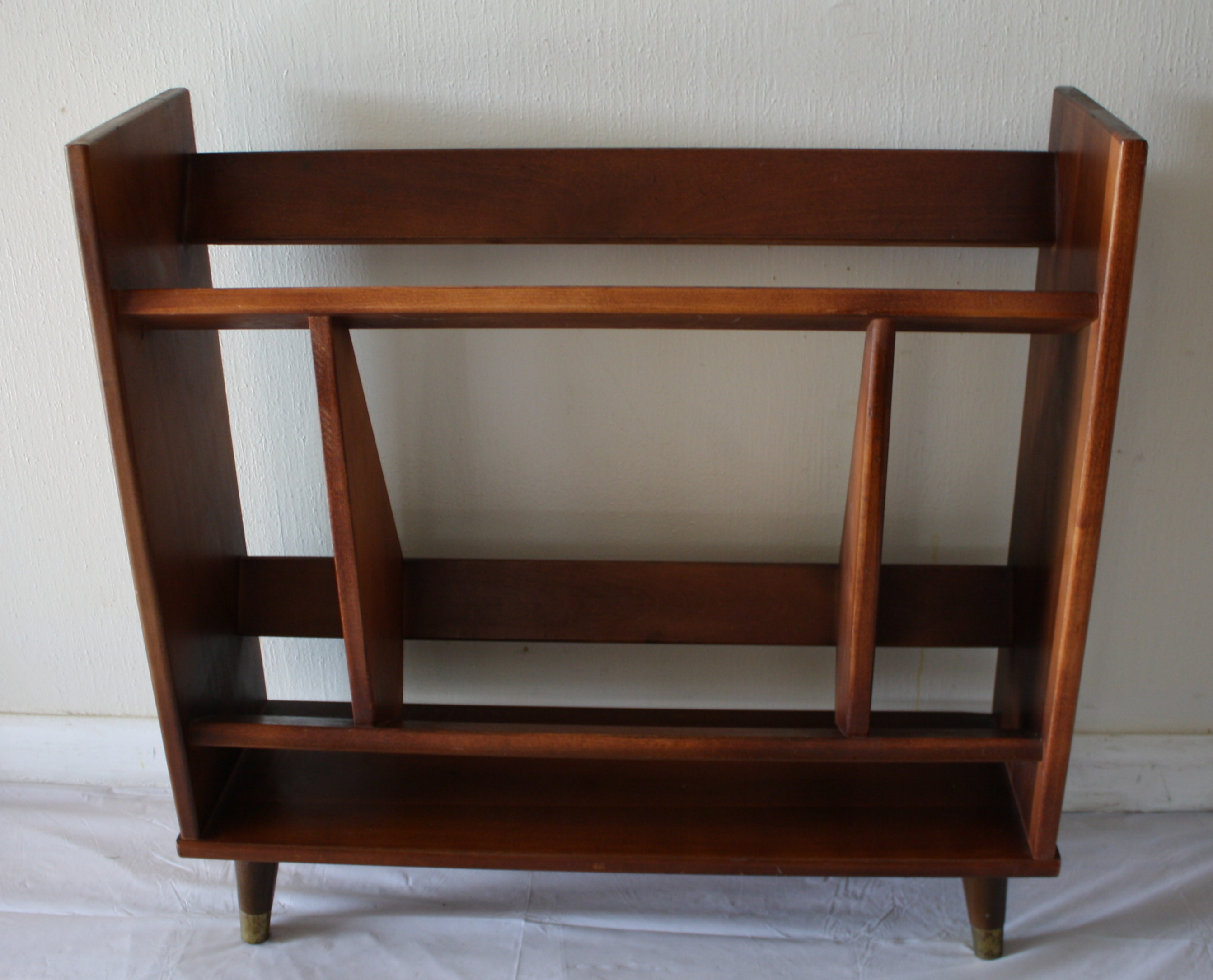 Mid Century Modern Mini Bookshelf Picked Vintage