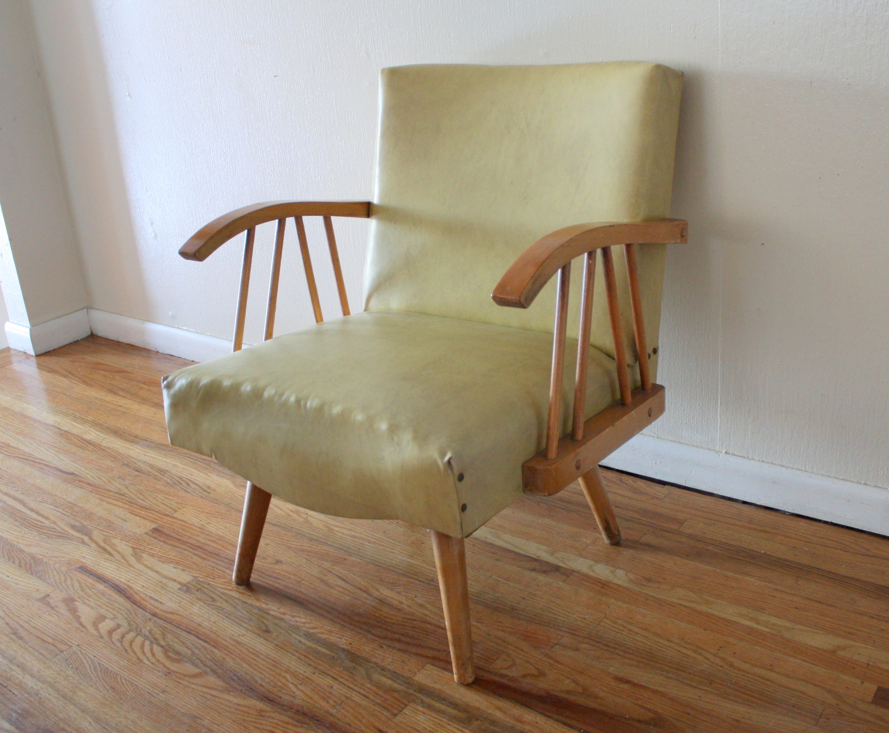 Mid Century Modern Rocker Chair