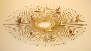 mcm sunburst bird sculpture 1