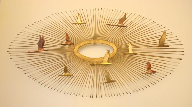 mcm sunburst bird sculpture 1