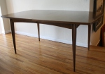 Mid century modern surfboard dining table