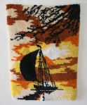 Sunset sailboat: $65