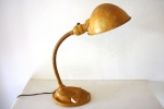 Industrial gooseneck table lamp - $65