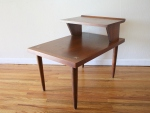 American by Martinsville 2 tiered side table - $225