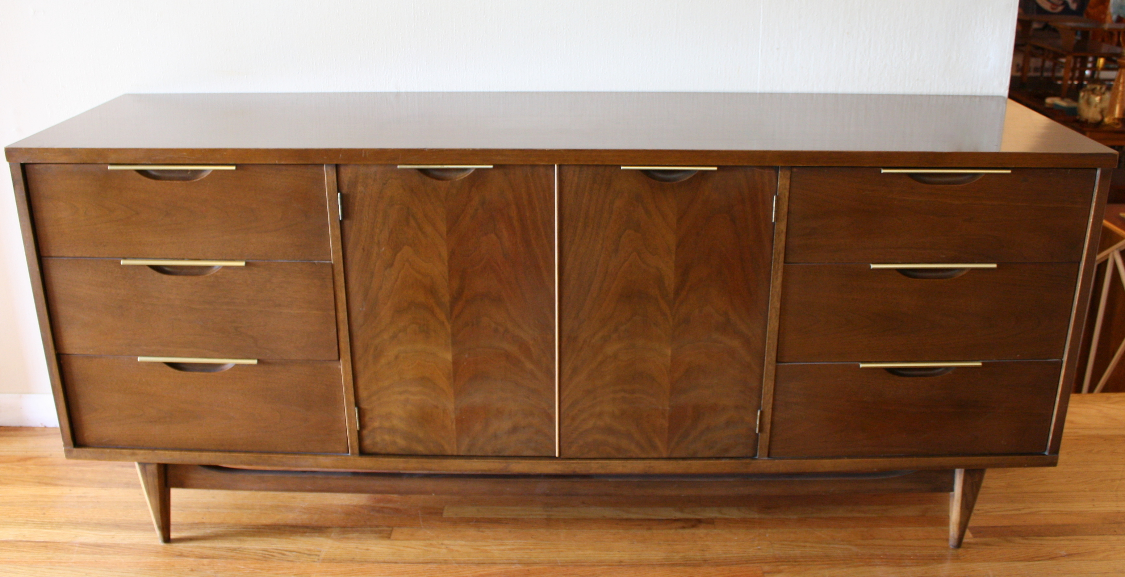 Mid Century Modern Credenza Low Dressers Picked Vintage : kent coffey tableau credenza 1 from pickedvintage.com size 3644 x 1869 jpeg 2343kB