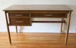Mid century modern floating desk