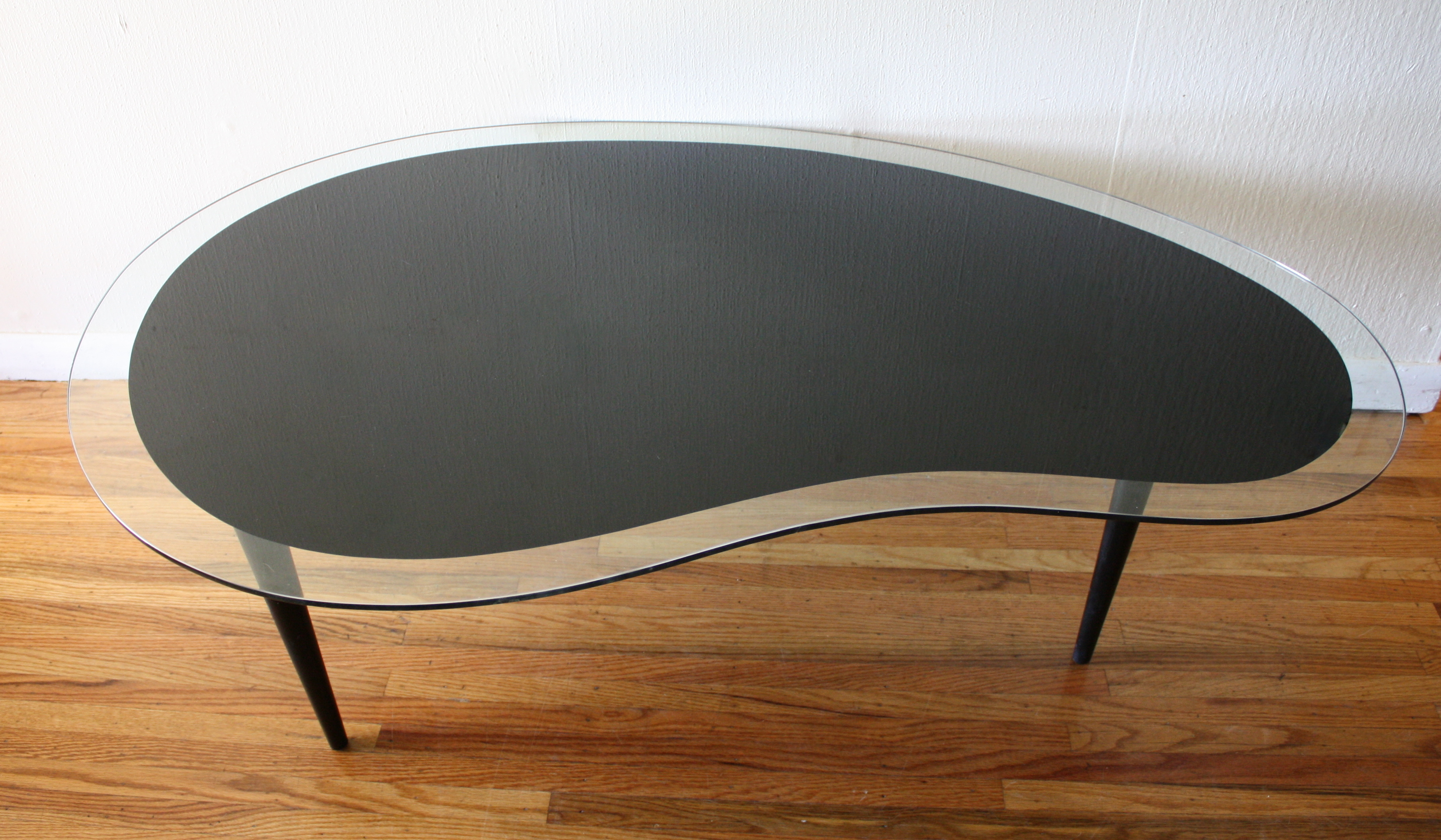 Mid Century Modern Kidney Coffee Table Picked Vintage