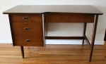 Mid century modern notch desk - *SOLD*