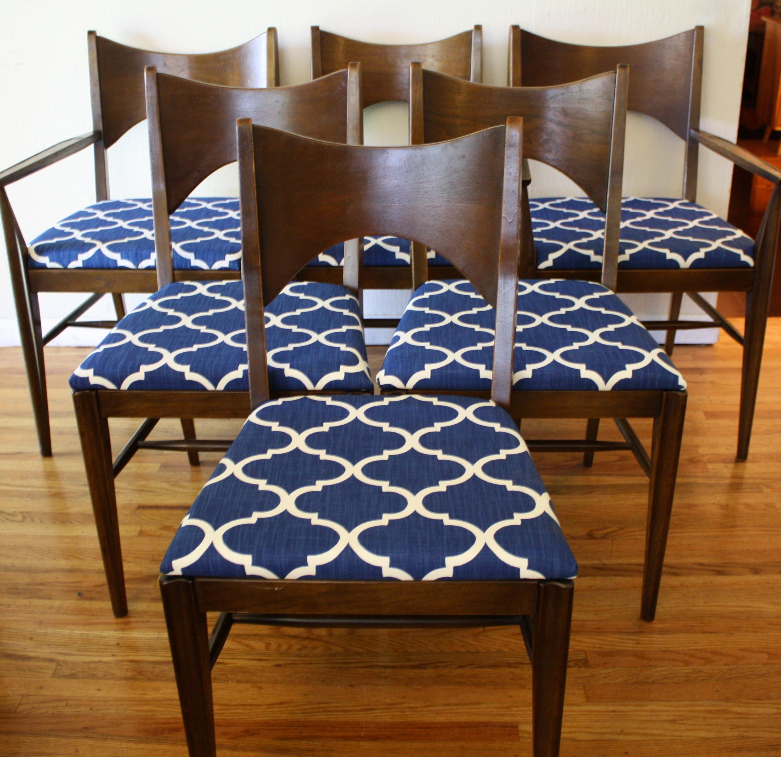 Mid Century Modern Broyhill Saga Dining Chairs Picked