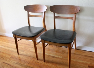 Lane dovetail chairs 1