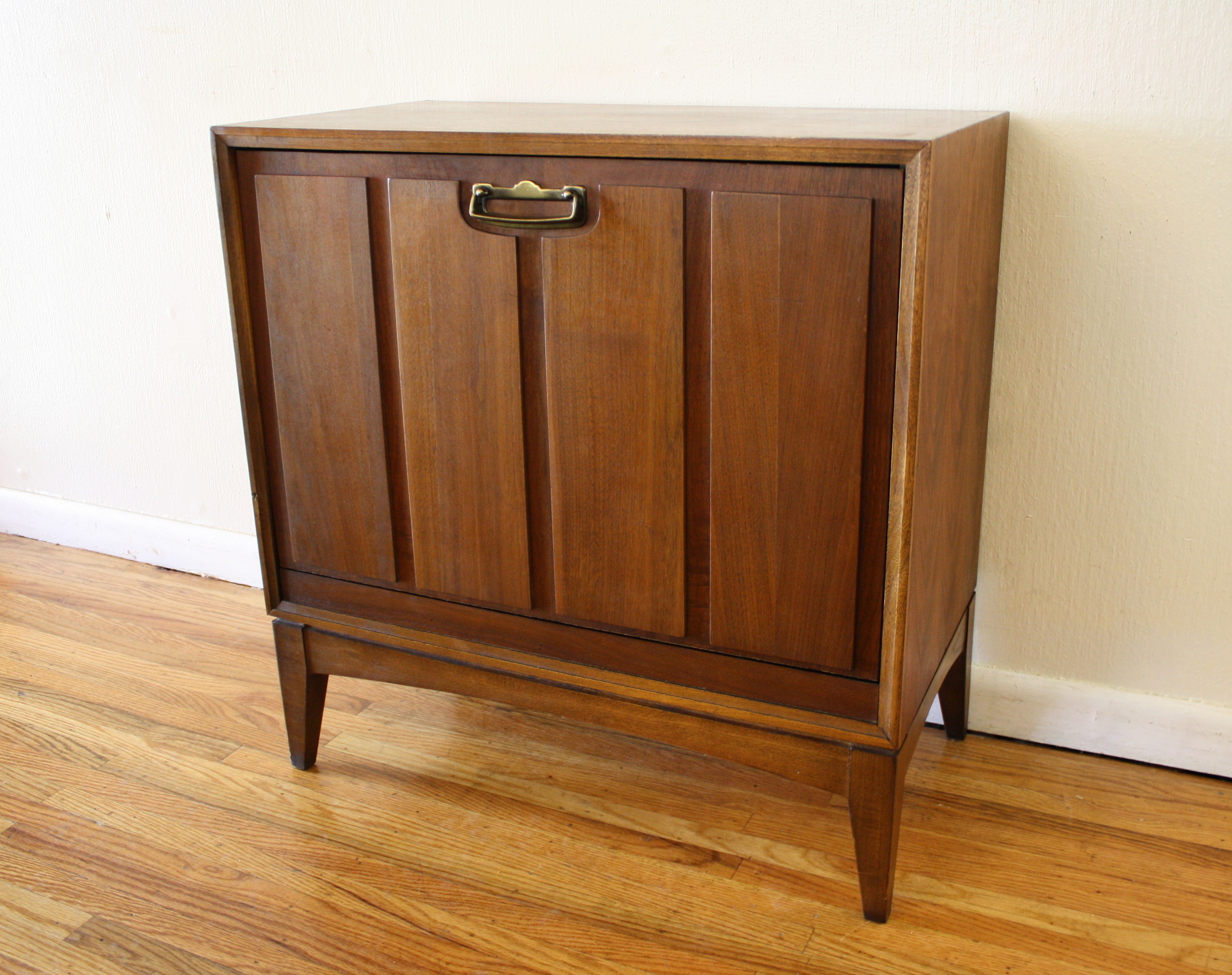 Mid Century Modern Record Cabinet By Lane Picked Vintage