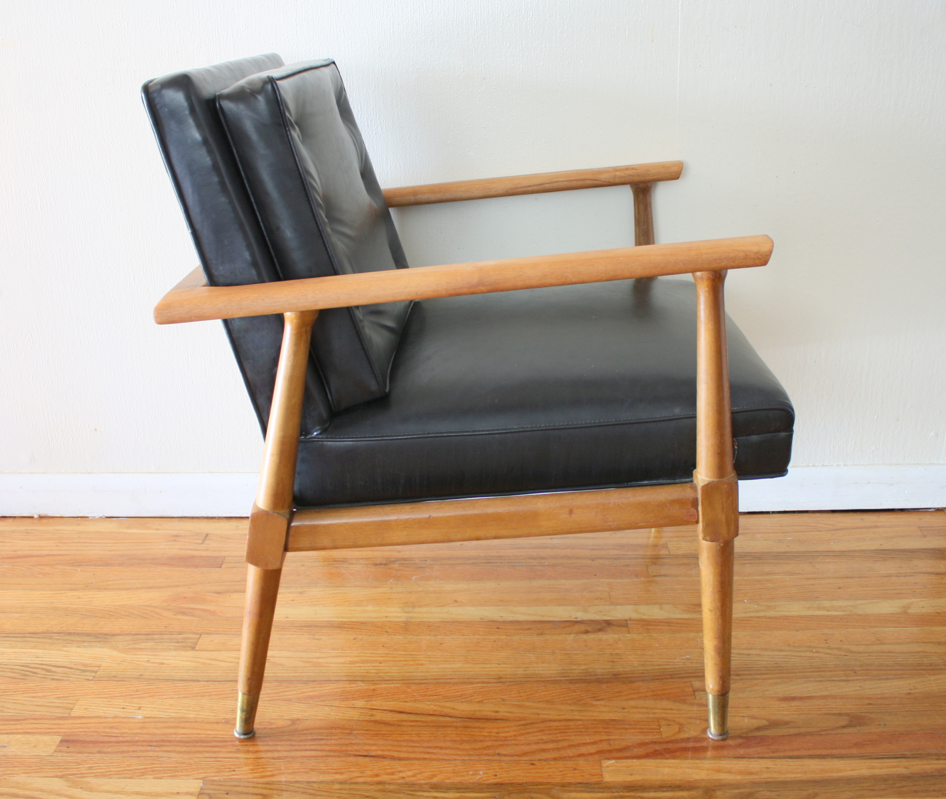 Mid Century Modern Arm Chairs Picked Vintage : mcm black arm chair 2 from pickedvintage.com size 3035 x 2562 jpeg 2498kB