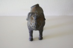 Small cast iron pug - $85