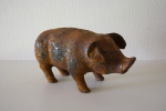 Small cast iron piggy bank: *SOLD*